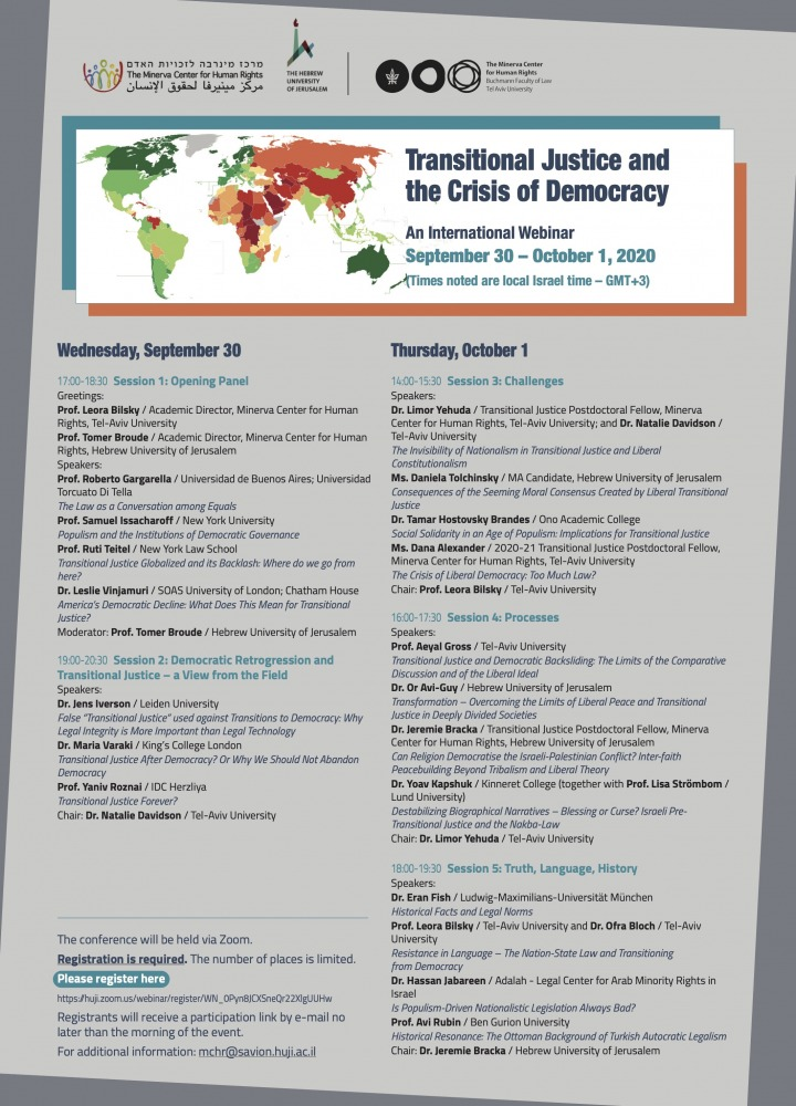 Transitional Justice and the Crisis of Democracy